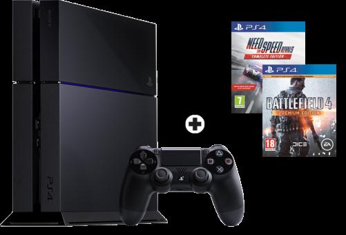 Sony PlayStation 4 500GB inkl. 2 Games