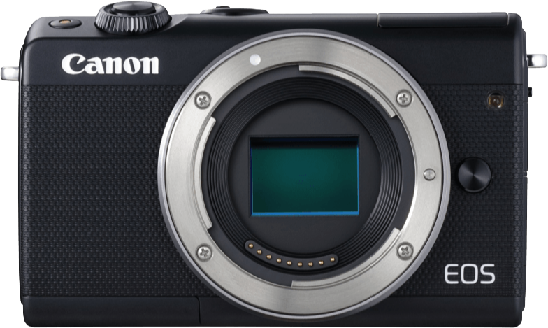 Canon eos m100 appareil photo num rique 24 2 mp noir for Appareil photo ecran 180