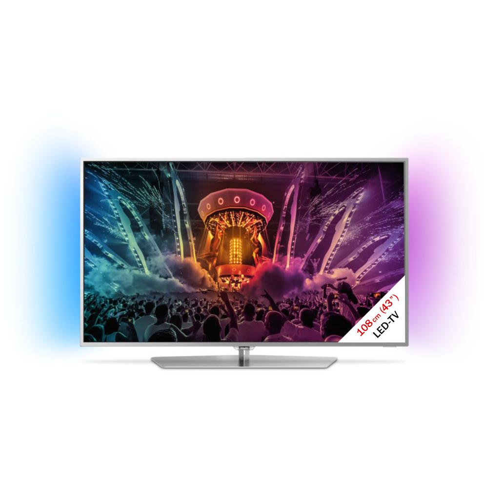 philips 43pus6551 12 lcd led tv 43 108 cm silber g nstig kaufen 40 49 fernseher. Black Bedroom Furniture Sets. Home Design Ideas