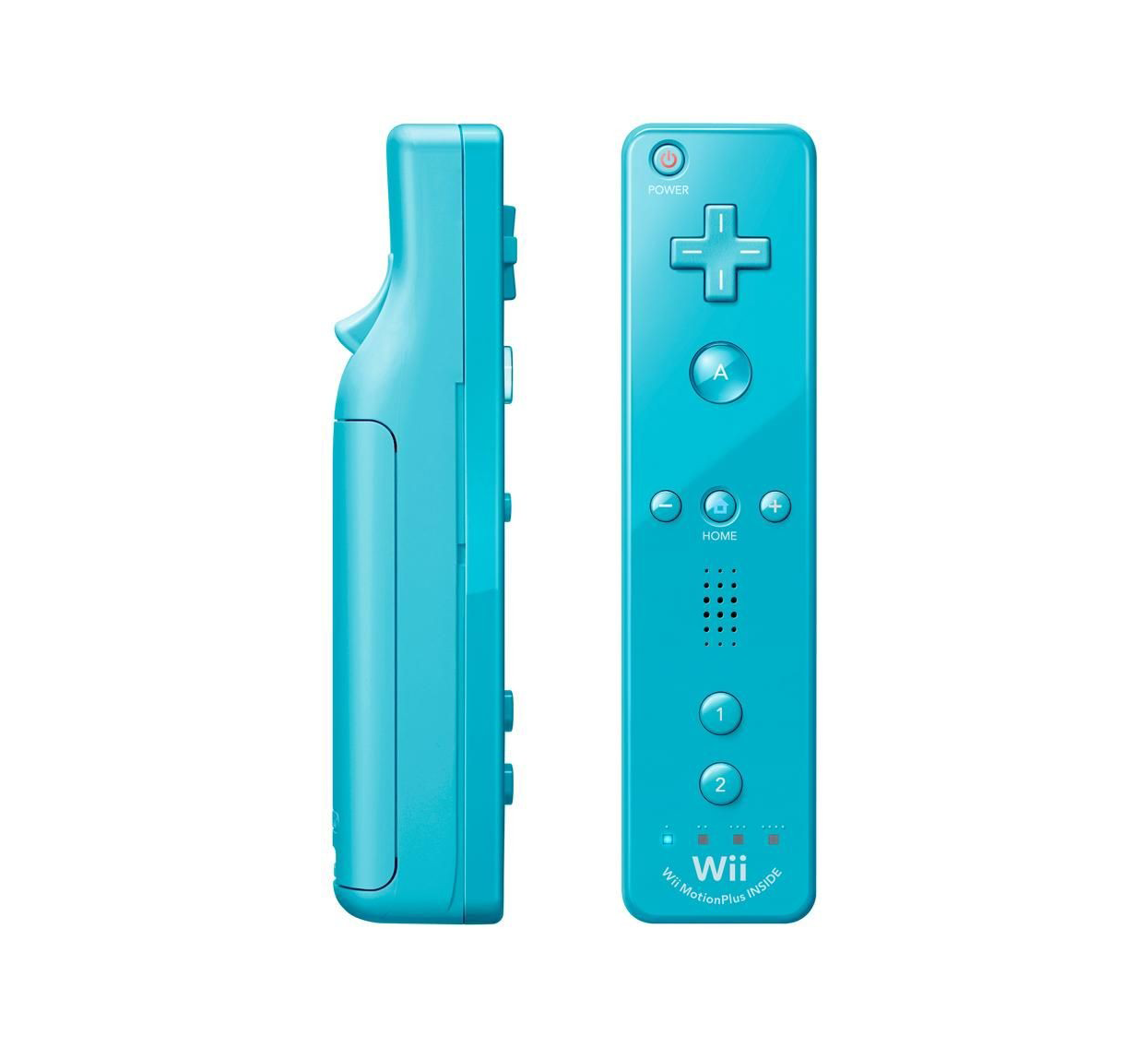 nintendo wii u remote plus blau g nstig kaufen wii u. Black Bedroom Furniture Sets. Home Design Ideas