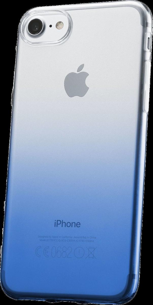 cellularline shadow f r iphone 7 8 blau g nstig kaufen. Black Bedroom Furniture Sets. Home Design Ideas