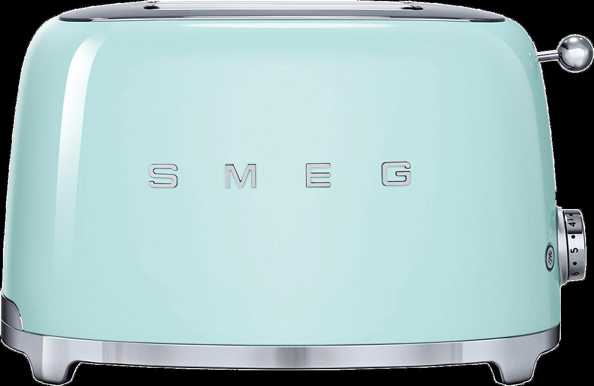 smeg 50 39 s retro style toaster 2 scheiben gr n. Black Bedroom Furniture Sets. Home Design Ideas