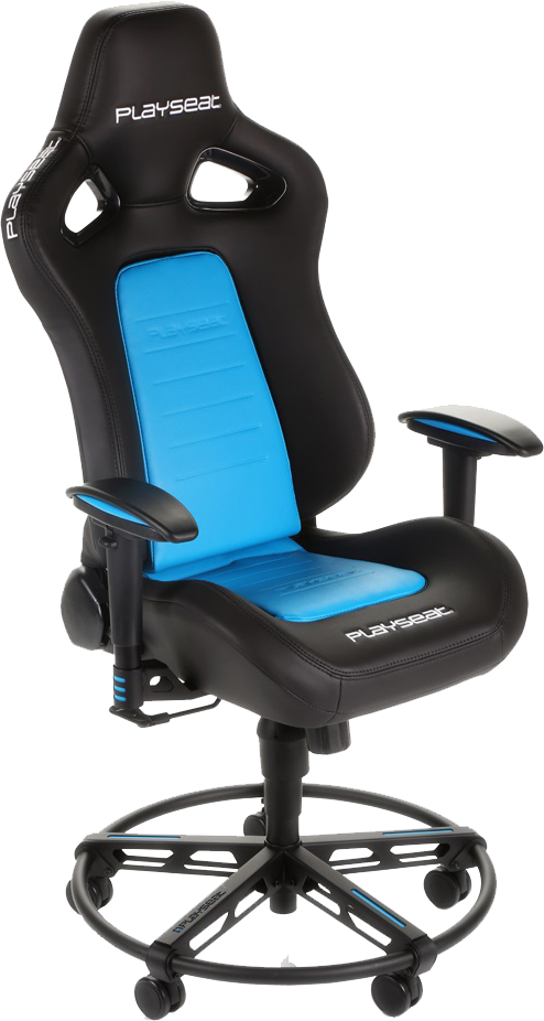 playseat l33t blau g nstig kaufen pc gamerstuhl. Black Bedroom Furniture Sets. Home Design Ideas