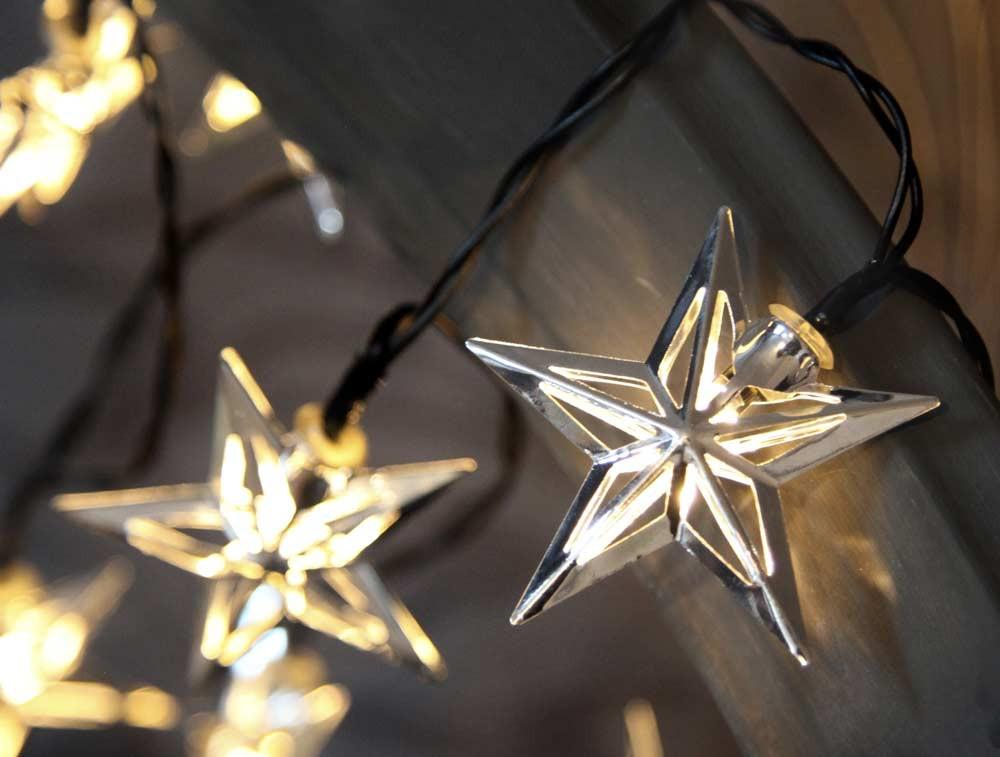 star trading 728 70 metal star weihnachtsbeleuchtung mit 10 leds silber g nstig kaufen. Black Bedroom Furniture Sets. Home Design Ideas