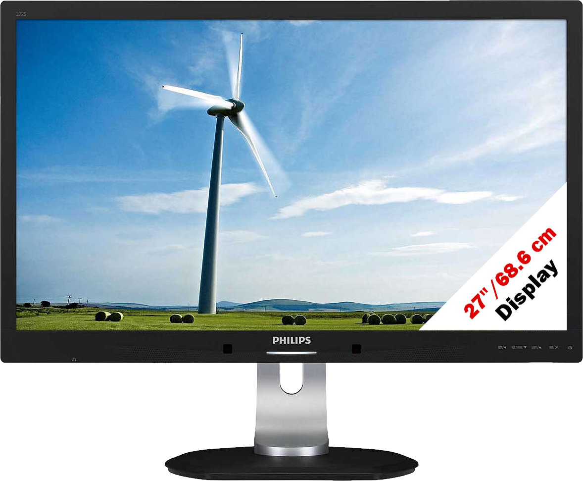 philips 272s4lpjcb 00 monitor 27 68 6 cm schwarz. Black Bedroom Furniture Sets. Home Design Ideas