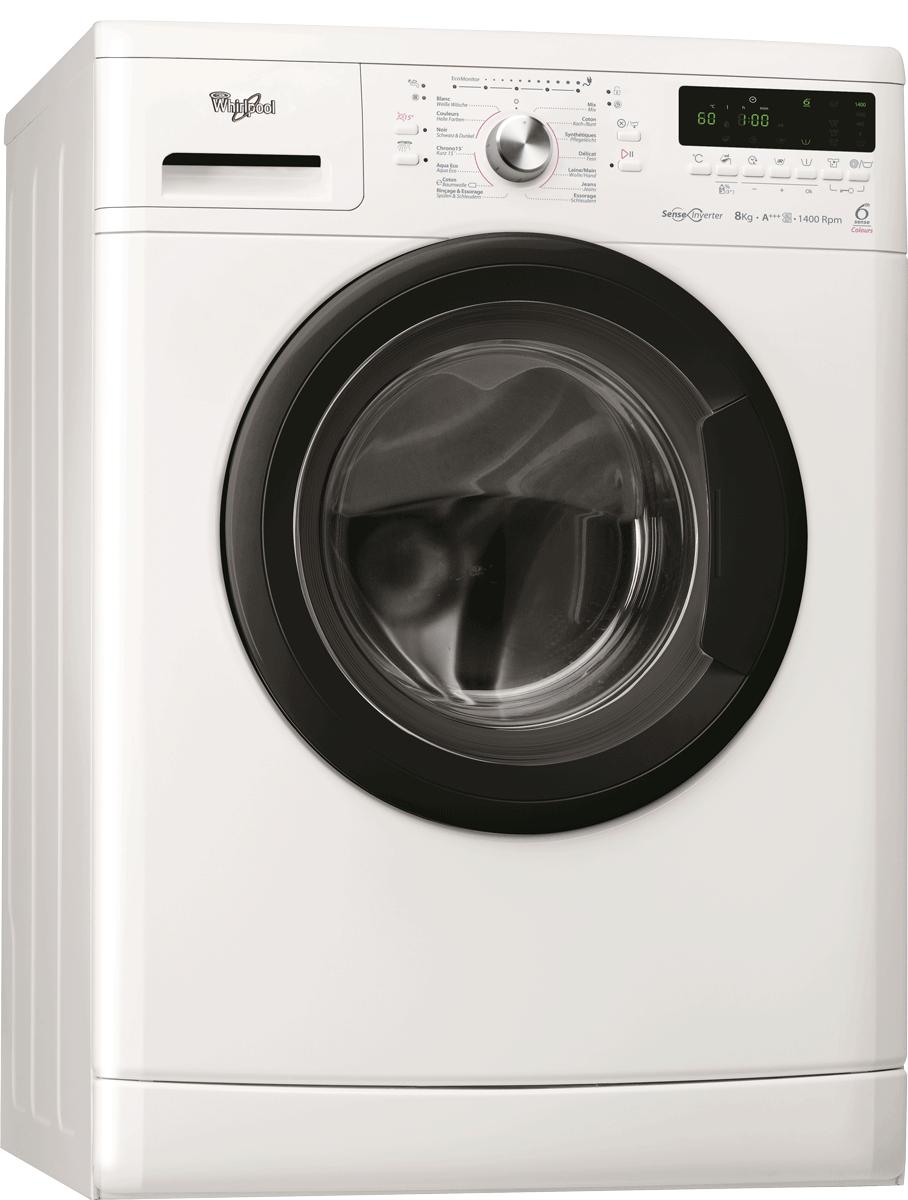 whirlpool wac 8645 waschmaschine anzahl programme 16 energieeffizienzklasse a weiss. Black Bedroom Furniture Sets. Home Design Ideas