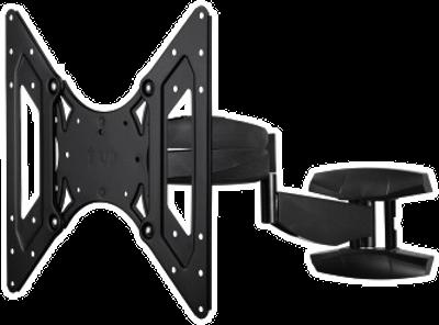 hama tv wandhalterung fullmotion xl schwarz g nstig kaufen neig und schwenkbar media. Black Bedroom Furniture Sets. Home Design Ideas