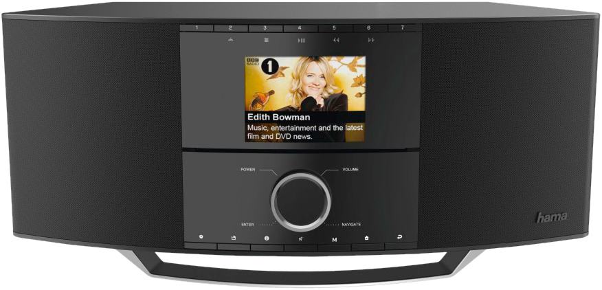 hama dir3500mcbt internetradio dab noir dab radio. Black Bedroom Furniture Sets. Home Design Ideas