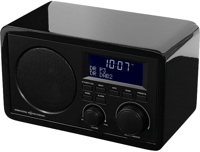 international receiver company ikr1440 noir dab radio. Black Bedroom Furniture Sets. Home Design Ideas