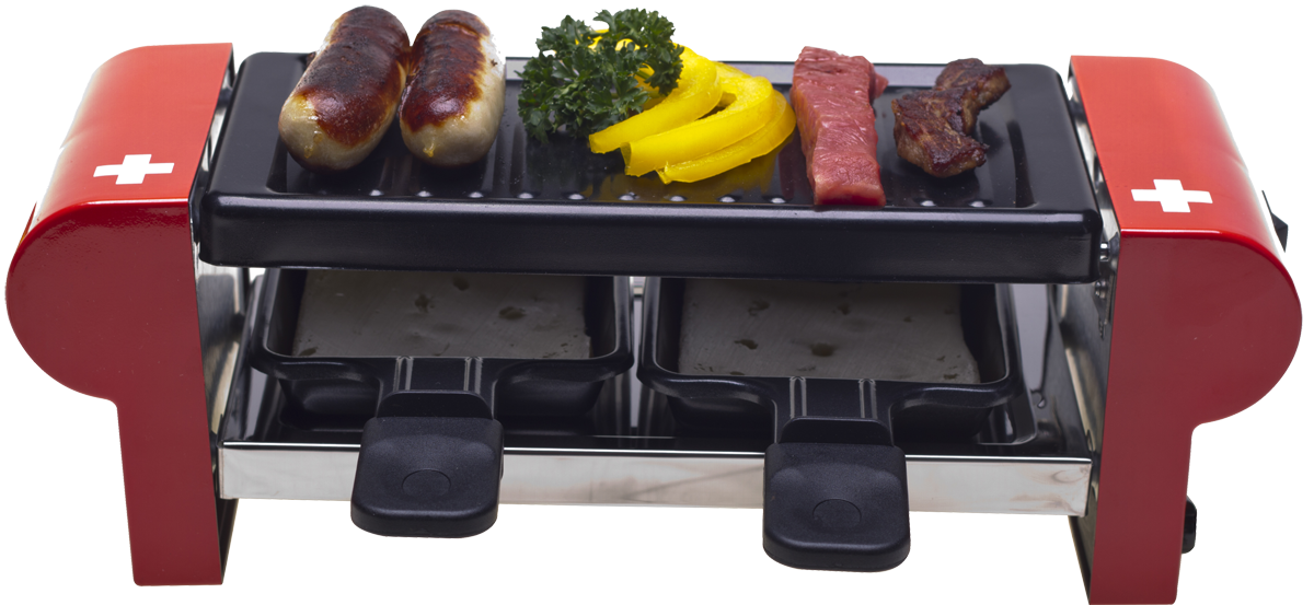 nouvel raclette ger t duo g nstig kaufen kombi raclettegrill media markt online shop. Black Bedroom Furniture Sets. Home Design Ideas