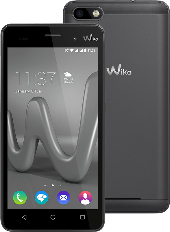 wiko lenny 3 android smartphone dual sim grau. Black Bedroom Furniture Sets. Home Design Ideas