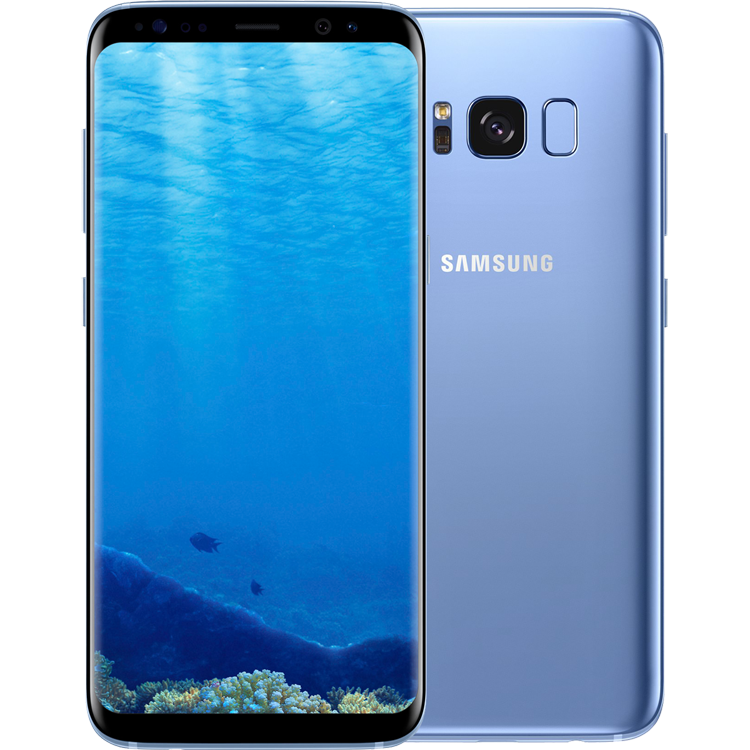samsung galaxy s8 android smartphone 64 gb coral. Black Bedroom Furniture Sets. Home Design Ideas