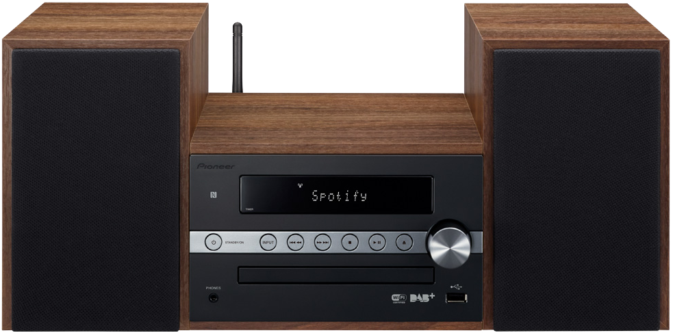pioneer x cm66d hifi microsystem dab dab braun. Black Bedroom Furniture Sets. Home Design Ideas