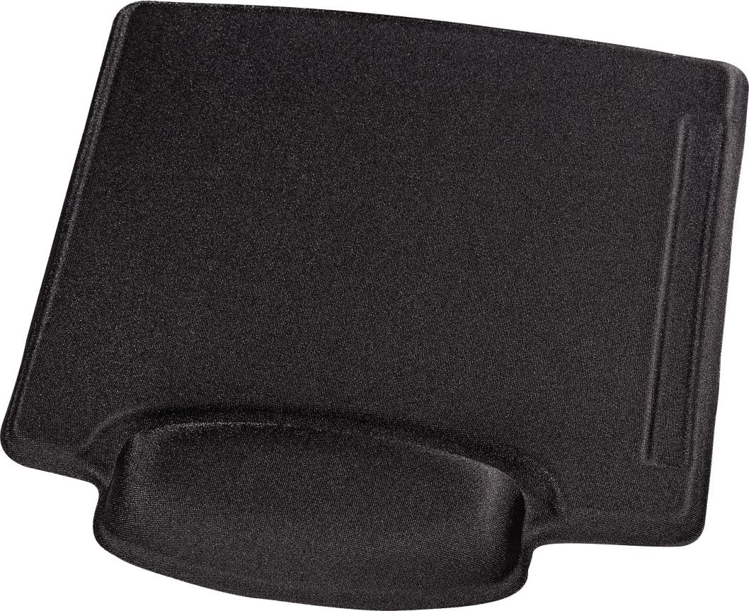 hama tapis de souris tapis de souris pour travailler tissu noir tapis de souris pour. Black Bedroom Furniture Sets. Home Design Ideas