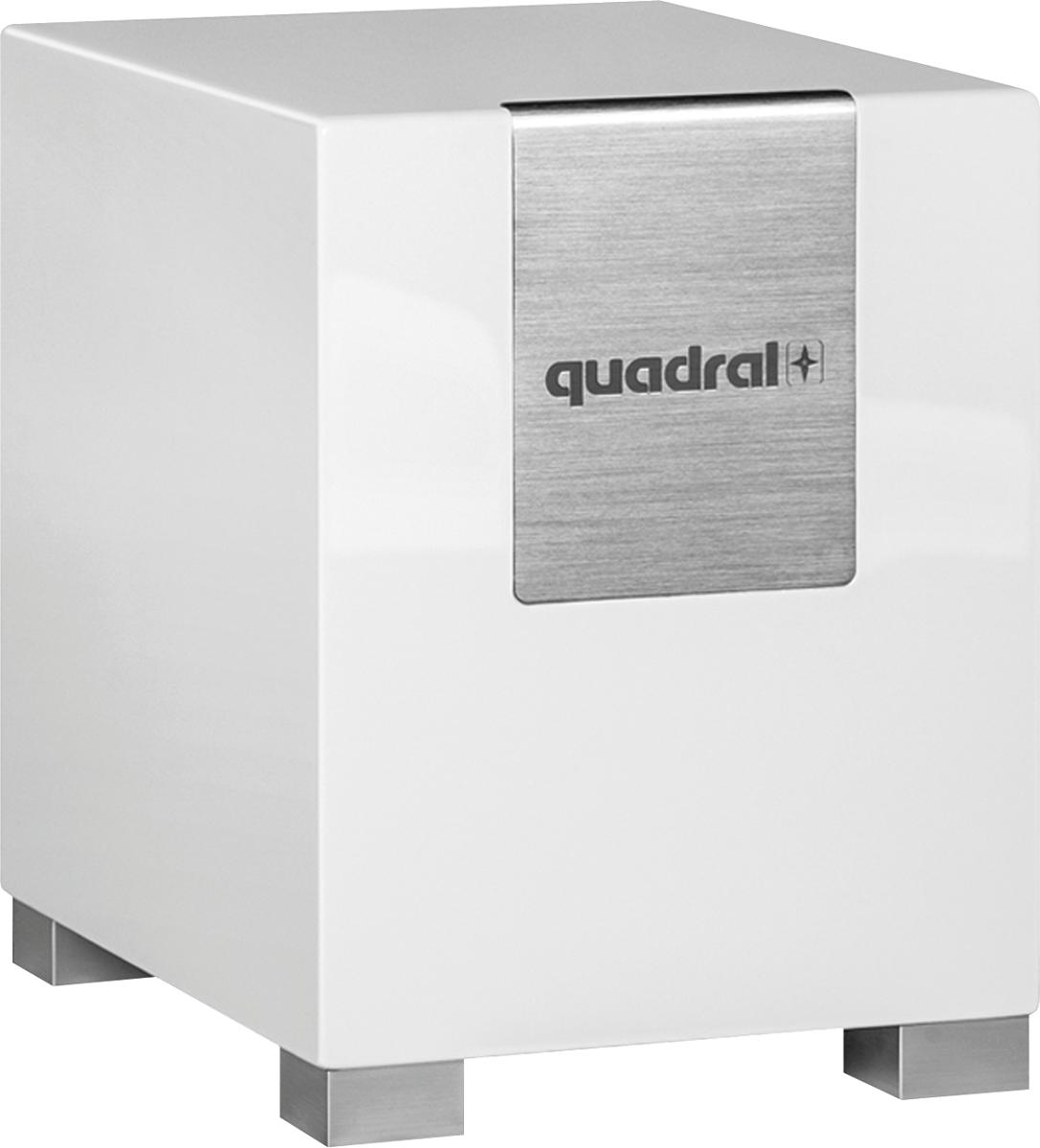 quadral qube 8 silk caisson de basse plus actif 30 200. Black Bedroom Furniture Sets. Home Design Ideas