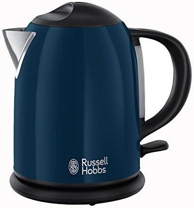 russell hobbs colours royal blue kompakt wasserkocher 1 l. Black Bedroom Furniture Sets. Home Design Ideas