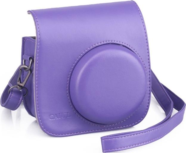 fujifilm leather case f r instax mini 8 violett g nstig. Black Bedroom Furniture Sets. Home Design Ideas