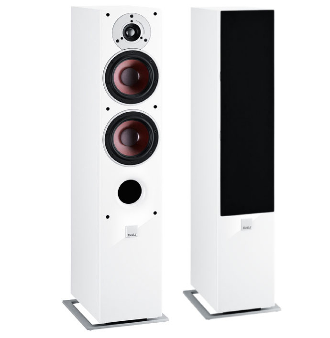 dali zensor 5 haut parleur colonne paire max 150 w blanc haut parleurs colonne. Black Bedroom Furniture Sets. Home Design Ideas