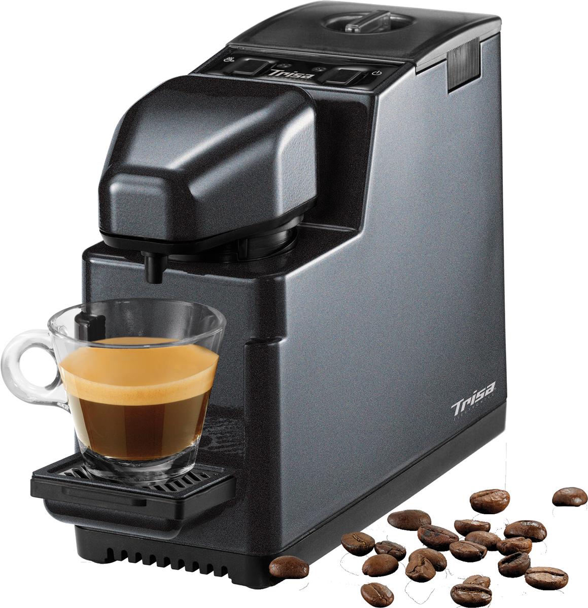 trisa coffee to go anthrazit g nstig kaufen sonstige kaffee vollautomaten media markt. Black Bedroom Furniture Sets. Home Design Ideas
