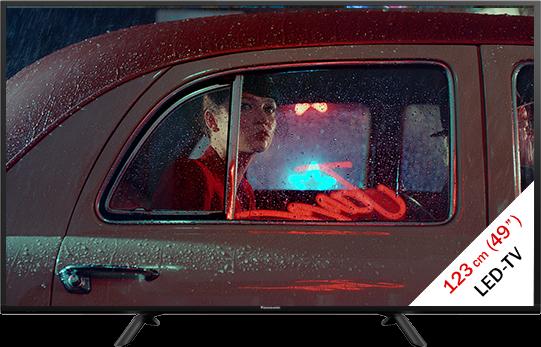 panasonic tx 49esw404 lcd led tv full hd display 49 123 cm schwarz g nstig kaufen. Black Bedroom Furniture Sets. Home Design Ideas