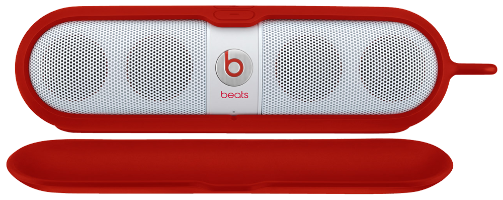 beats by dr dre beats pill sleeve rot g nstig kaufen. Black Bedroom Furniture Sets. Home Design Ideas
