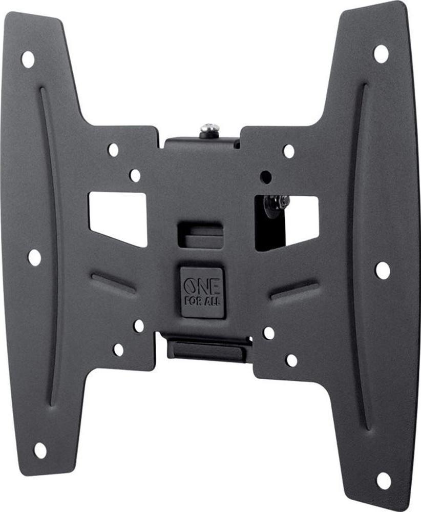 one for all wm4221 wandhalterung schwarz g nstig kaufen neigbar media markt online shop. Black Bedroom Furniture Sets. Home Design Ideas