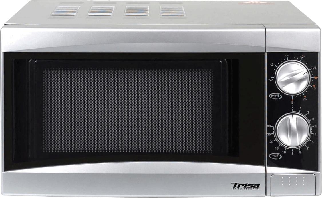 trisa micro plus mikrowelle 900 watt silber g nstig kaufen mikrowellen mit grillfunktion. Black Bedroom Furniture Sets. Home Design Ideas