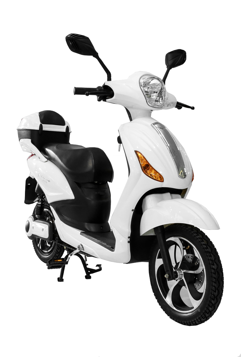 vespino city electro scooter 25 km h weiss g nstig kaufen elektroroller media markt. Black Bedroom Furniture Sets. Home Design Ideas