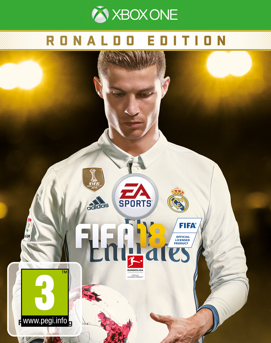 fifa 18 ronaldo edition xbox one multilingue acheter. Black Bedroom Furniture Sets. Home Design Ideas