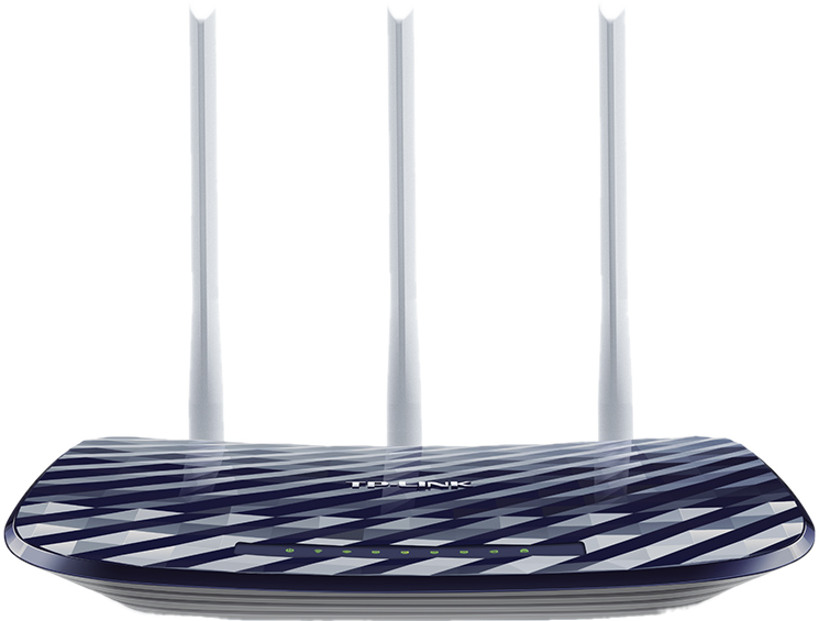 tp link archer c20 ac750 dualband wlan router 300 mbit s silber g nstig kaufen router. Black Bedroom Furniture Sets. Home Design Ideas
