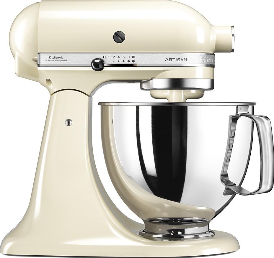kitchenaid artisan ksm125 robot de cuisine 300 w cr me ustensiles de cuisine acheter. Black Bedroom Furniture Sets. Home Design Ideas