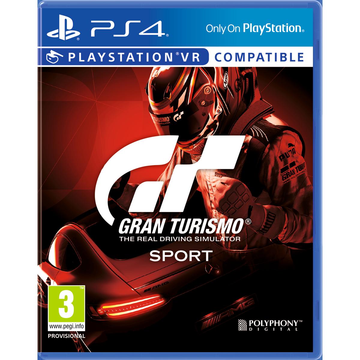 Gran turismo sport ps4 multilingue jeux ps4 racing acheter bas prix media markt - Jeux en ligne ps4 ...