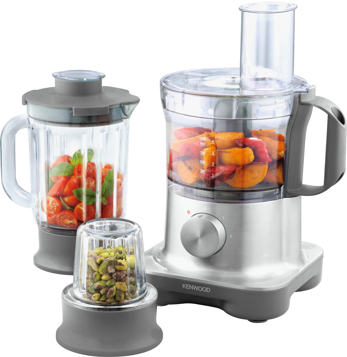 Kenwood multipro compact fpm260 robot de cuisine 750 w for Acheter ustensiles de cuisine