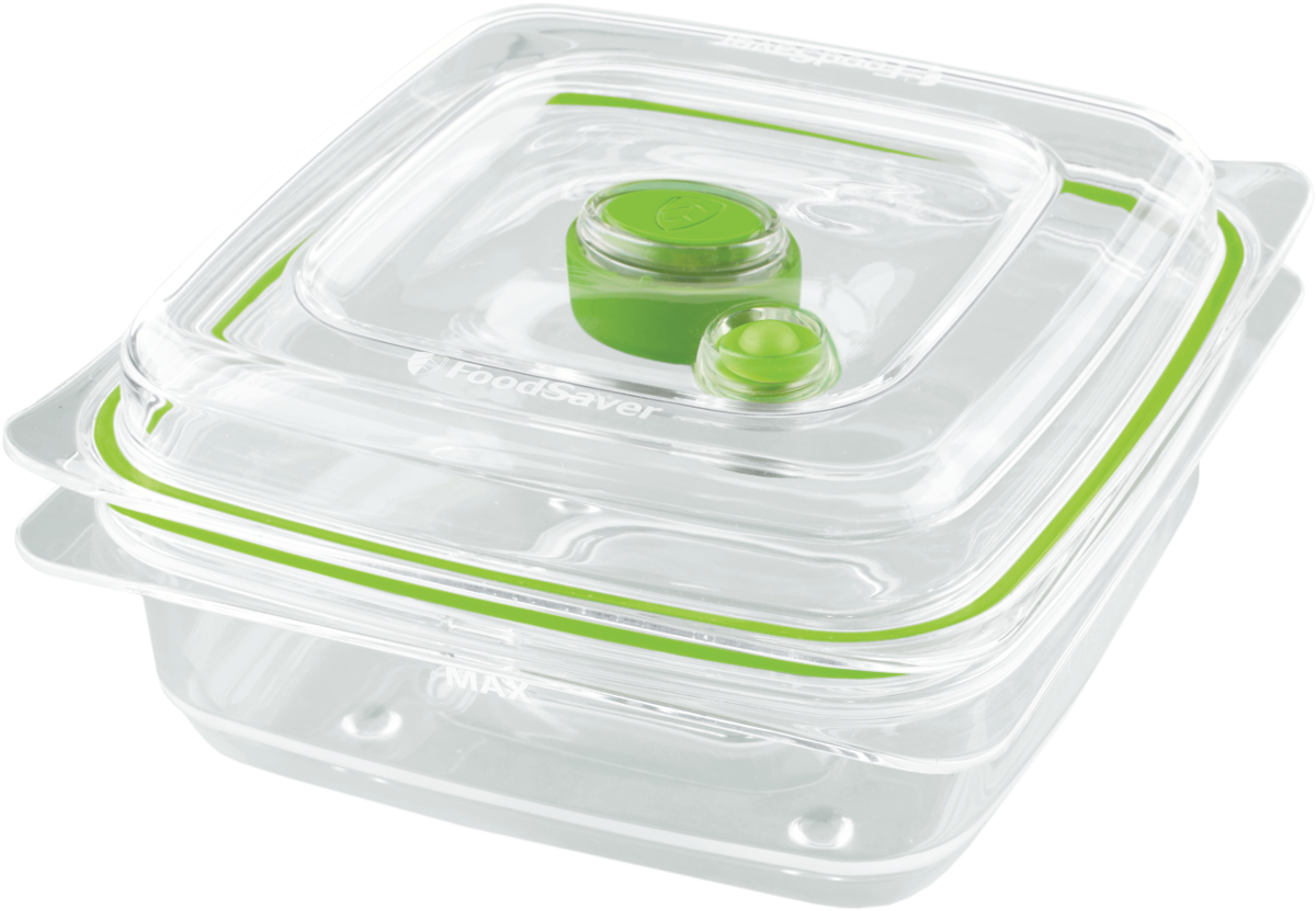 Foodsaver bo te fra cheur de conservation 700 ml for Credence en verre transparent cuisine