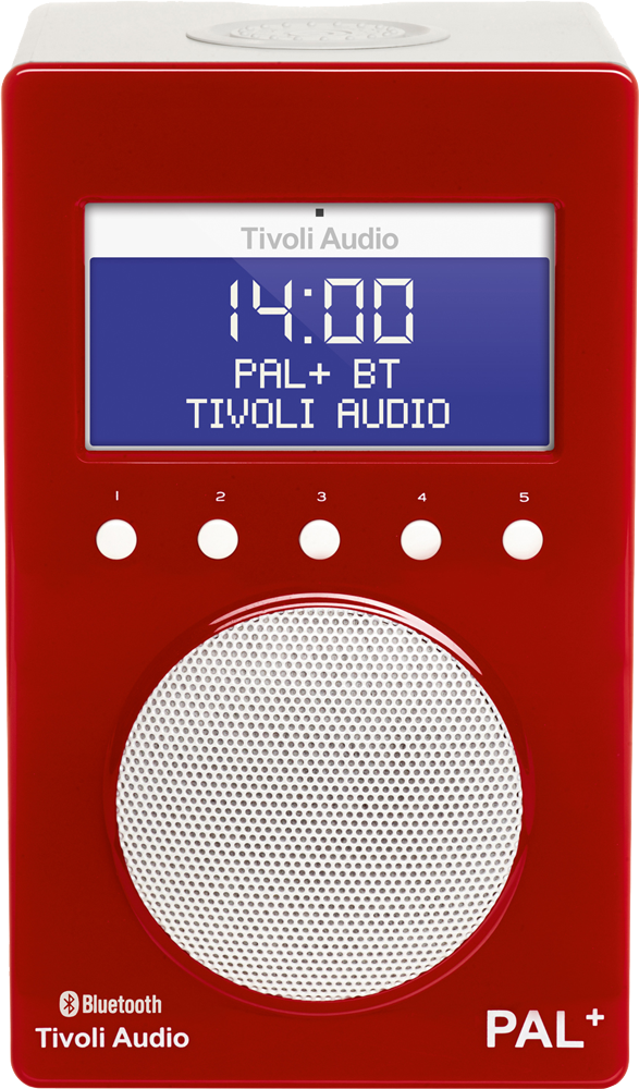 tivoli audio pal bt rot weiss g nstig kaufen dab radio. Black Bedroom Furniture Sets. Home Design Ideas