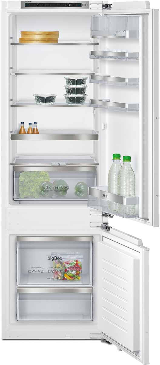Siemens ki87sad30h combinaison r frig rateur cong lateur for Refrigerateur congelateur hauteur 170 cm