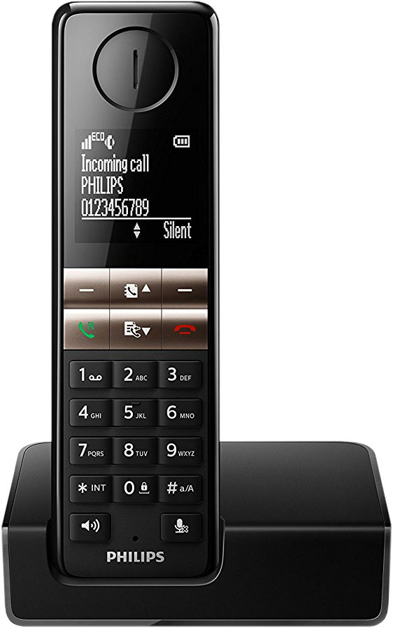 philips d4601b 01 schnurloses telefon 4 6 cm display. Black Bedroom Furniture Sets. Home Design Ideas