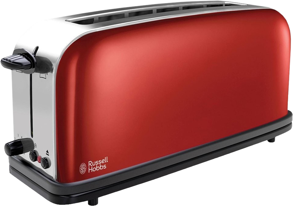 Russell Hobbs Colours Plus Flame Red - Grille-pain - 1000 W ...