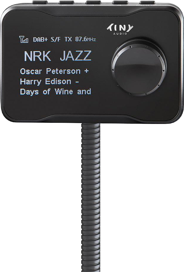 tiny audio c7 dab transmitter schwarz g nstig kaufen. Black Bedroom Furniture Sets. Home Design Ideas