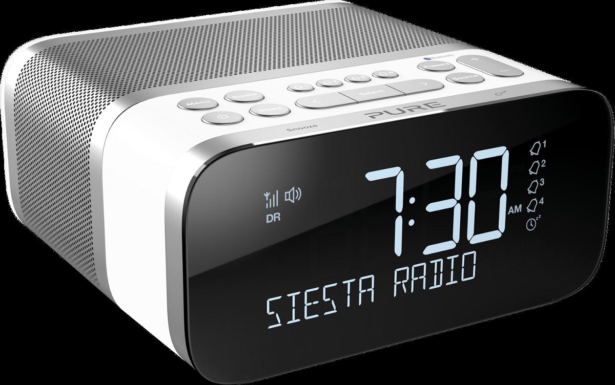 pure siesta s6 dab ukw radio mit crystalvue display. Black Bedroom Furniture Sets. Home Design Ideas