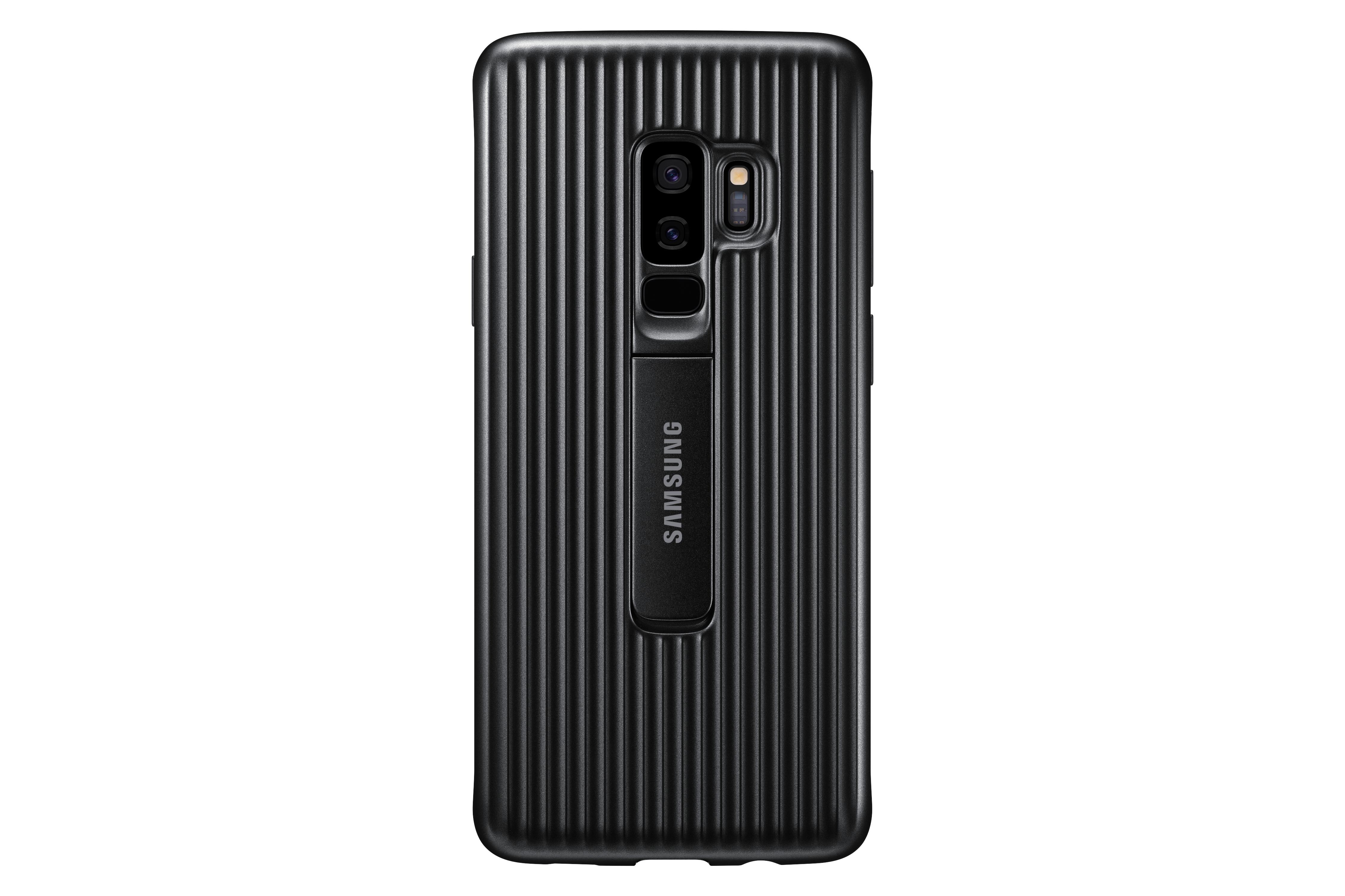 SAMSUNG Protective Standing - Für Samsung Galaxy S9+ - Schwarz ...