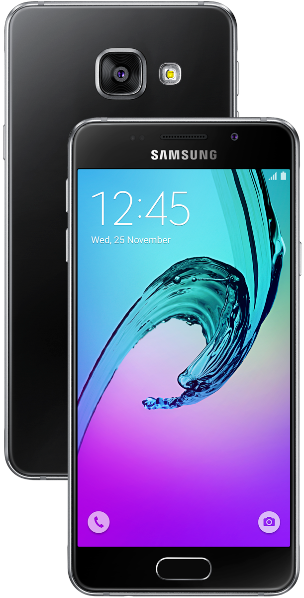 samsung galaxy a3 2016 android smartphone 16gb. Black Bedroom Furniture Sets. Home Design Ideas
