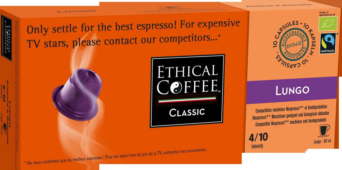 ETHICAL COFFEE COMPANY Espresso Lungo BIO günstig kaufen - Ethical ...