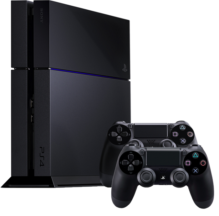 sony playstation 4 1tb inkl 2 controller standfuss. Black Bedroom Furniture Sets. Home Design Ideas