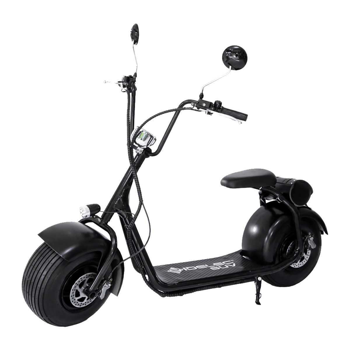 ridelec suv electro scooter 20 km h noir mat scooter l ctrique acheter bas prix. Black Bedroom Furniture Sets. Home Design Ideas