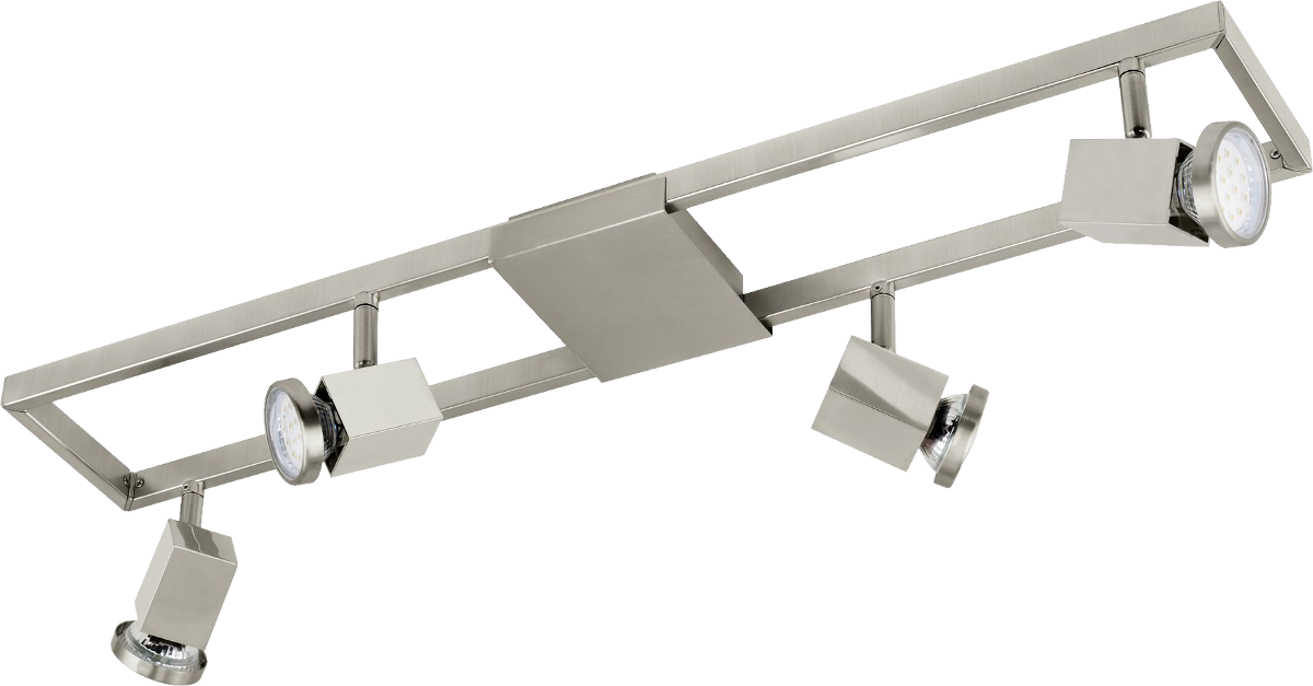 Eglo Zeraco Luminaire D 39 Int Rieur 4x 5w Nickel Mat Spots Clairage Sur Rail Acheter