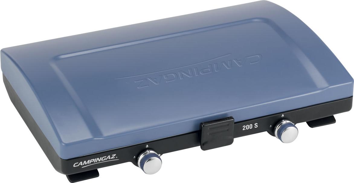 Campingaz 200 s fornelli 2 fuochi 2 x 2100 w blu nero for Piani domestici a buon mercato