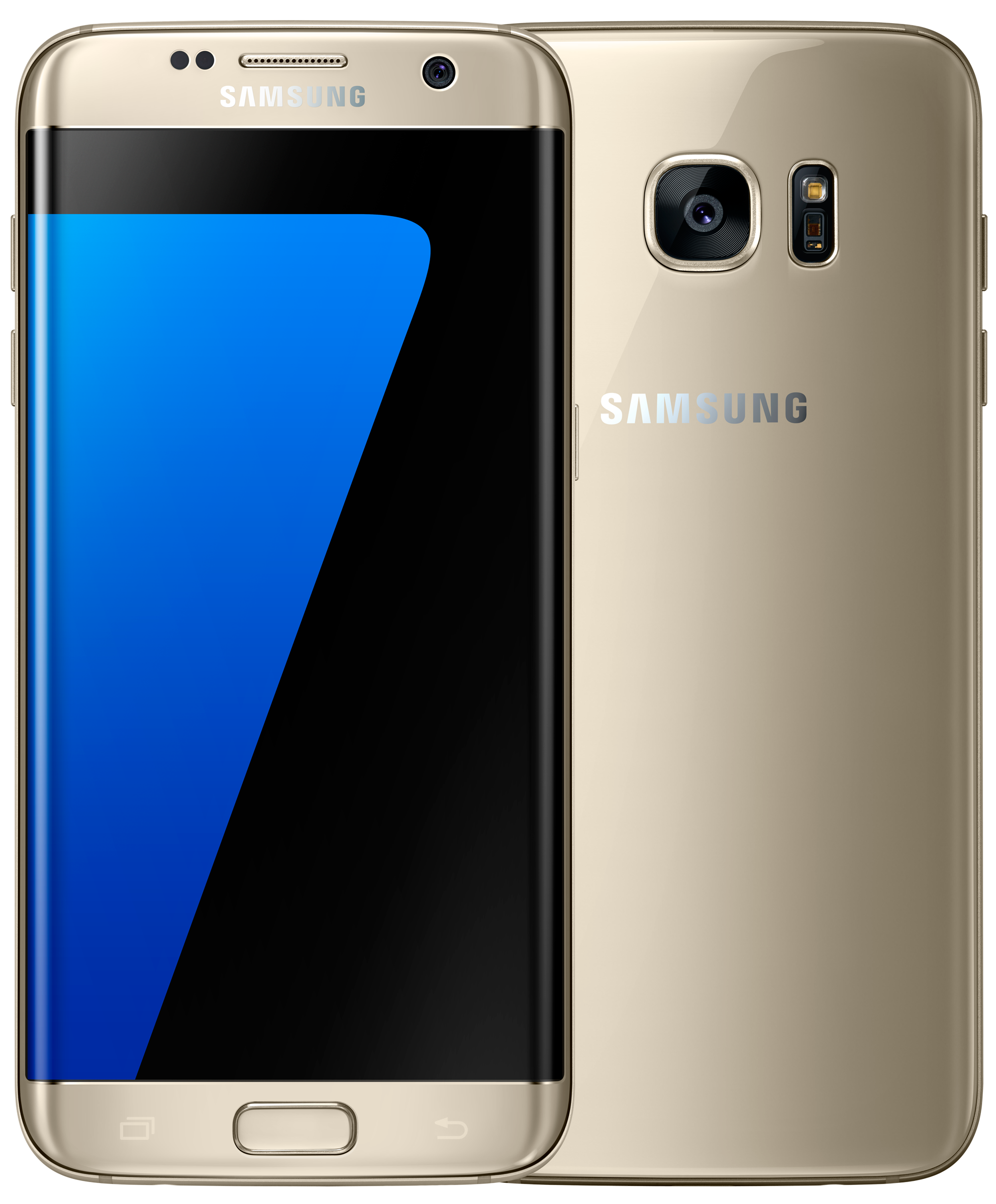 samsung galaxy s7 edge android smartphone 32gb gold. Black Bedroom Furniture Sets. Home Design Ideas
