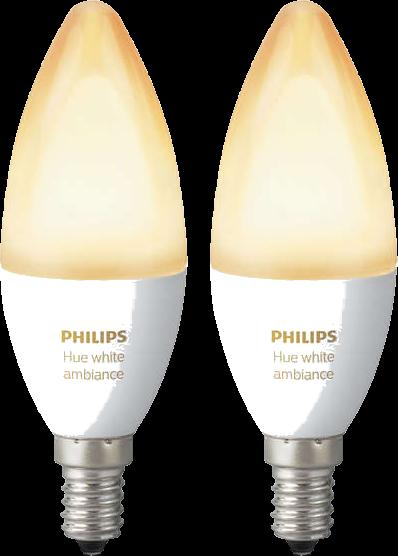 philips hue e14 white ambiance erweiterung 2 st ck weiss g nstig kaufen leuchtmittel. Black Bedroom Furniture Sets. Home Design Ideas