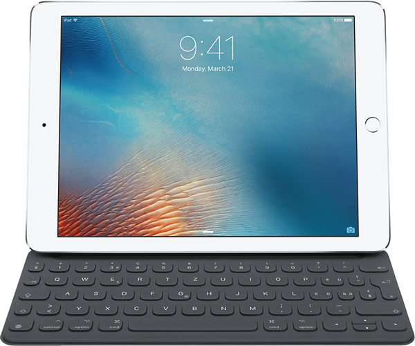 apple smart keyboard f r das 9 7 ipad pro g nstig kaufen. Black Bedroom Furniture Sets. Home Design Ideas